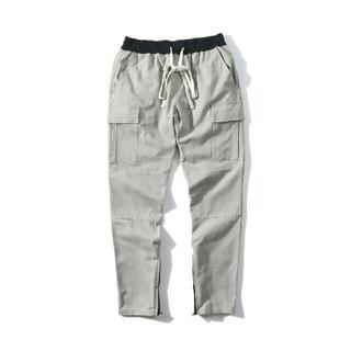 フィアオブゴッド(FEAR OF GOD)のFOG ESSENTIALS drawstring cargo pants M(スラックス)