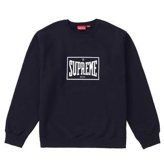シュプリーム(Supreme)のSupreme warm up crewneck 本物 新品未使用未開封(スウェット)
