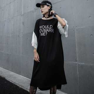 Tシャツワンピ レディース夏半袖 新品 人気TG41508(ロングワンピース/マキシワンピース)