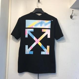 OFF-WHITE - OFF WHITE Tシャツ 半袖 メンズ レディース