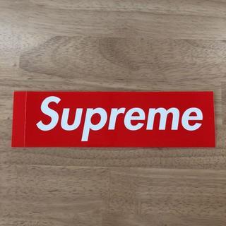 シュプリーム(Supreme)のSupreme/ Logo Sticker /シュプリーム/ロゴステッカー/赤(その他)