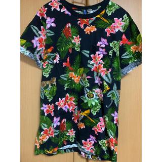 エイチアンドエム(H&M)のH&M アロハアニマル総柄Tシャツ(Tシャツ/カットソー(半袖/袖なし))