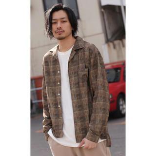 長袖オープンカラーシャツ(シャツ)