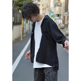 長袖 オープンカラーシャツ(シャツ)