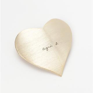 agnes b. - ハートモチーフヘアバレッタ