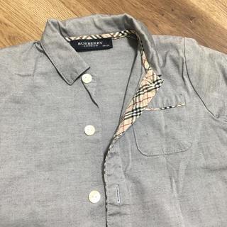 バーバリー(BURBERRY)のバーバリー 80センチ シャツ(シャツ/カットソー)