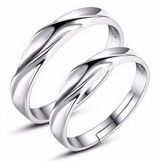 【☆ペアアクセサリー工房☆】愛の証明 ペアリング 2個セット フリーサイズ(リング(指輪))