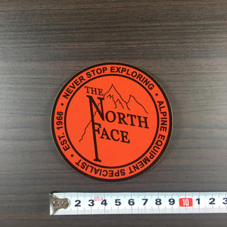 ザノースフェイス(THE NORTH FACE)の⑦ ノースフェイス ステッカー ⁑ OL(登山用品)