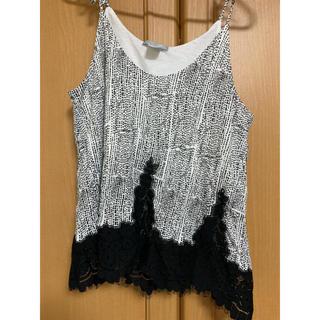 エイチアンドエム(H&M)のH&M 裾レースキャミソール(キャミソール)