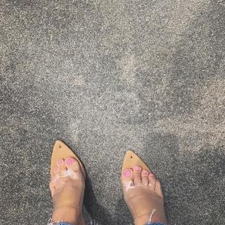 スライ(SLY)のyello shoes 02 wedge sandal(サンダル)