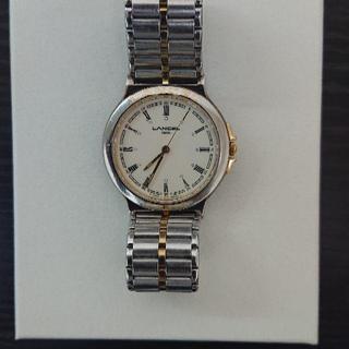 LANCEL - ランセル 腕時計 レディース シルバー ゴールド