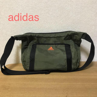 adidas - adidas ショルダーバッグ(カーキ)