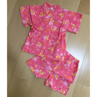 ニシマツヤ(西松屋)の甚平 90〜95㎝ 女の子(甚平/浴衣)