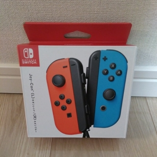Nintendo Switch - ジョイコン joy-con ネオンブルー ネオンレッド スイッチ switch
