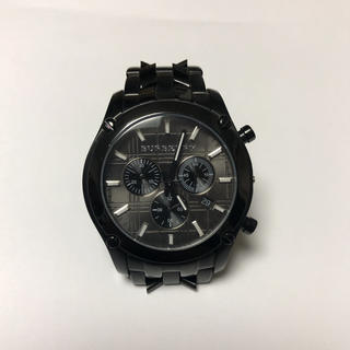 BURBERRY - BURBERRY メンズ 黒 腕時計
