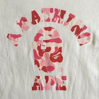 アベイシングエイプ(A BATHING APE)の【送料負担】エイプTシャツ(Tシャツ(半袖/袖なし))
