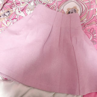ティティアンドコー(titty&co)のtitty&co♡ハイウエスト♡ピンク♡スカート(ミニスカート)