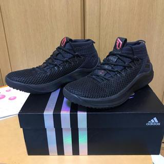 adidas - タイムセール アディダス バッシュ DAME4 黒 赤 28cm