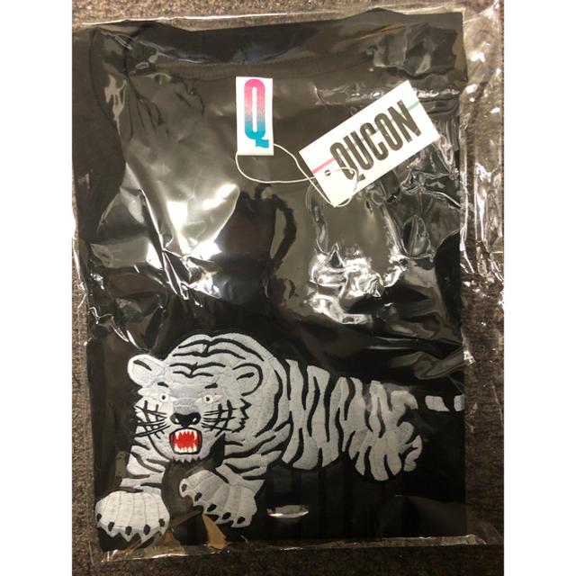FRAGMENT(フラグメント)のLサイズ QUCON TORANOSUKE TEE BLACK メンズのトップス(Tシャツ/カットソー(半袖/袖なし))の商品写真