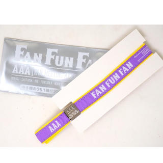AAA - AAA ファンミ ラバーバンド 紫