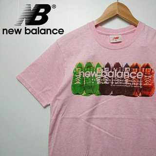 New Balance - 484 ニューバランス Tシャツ スニーカー プリント