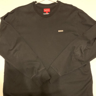 シュプリーム(Supreme)のsupreme Metallic Box Logo L/S Tee(Tシャツ/カットソー(七分/長袖))