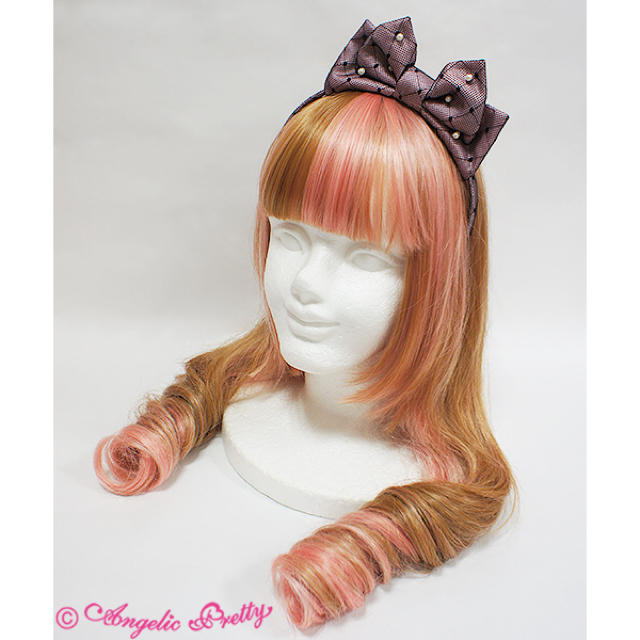 Angelic Pretty(アンジェリックプリティー)のprincess cat JSK カチューシャset レディースのワンピース(ひざ丈ワンピース)の商品写真