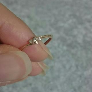 ザキッス(THE KISS)のTHE KISS K10 PG ダイヤモンド リング 10号(リング(指輪))