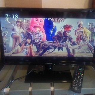 パナソニック(Panasonic)の【Panasonic】TH-24E300 2018年製 24インチ 液晶テレビ(テレビ)