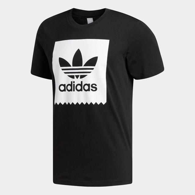 adidas(アディダス)のL【新品/即日発送OK】adidas オリジナルス Tシャツ SOLID 黒 メンズのトップス(Tシャツ/カットソー(半袖/袖なし))の商品写真