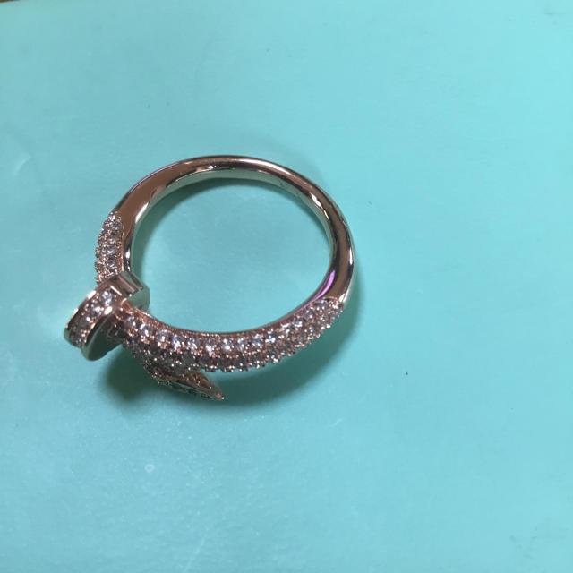 ジルコニアリング レディースのアクセサリー(リング(指輪))の商品写真