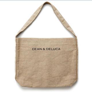 ディーンアンドデルーカ(DEAN & DELUCA)の【新品・未使用】DEAN & DELUCA リネントートバッグ L (トートバッグ)