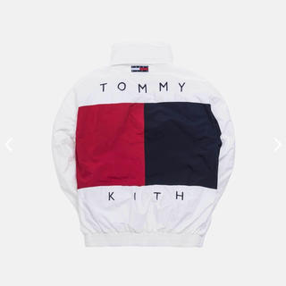 TOMMY HILFIGER - M】KITH × TOMMY COLORBLOCK SAILING JACKET