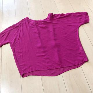 ユニクロ(UNIQLO)のユニクロ トップス カットソー(カットソー(半袖/袖なし))