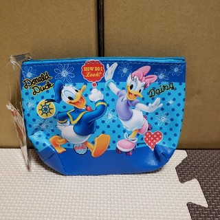 Disney - ドナルド スクエアポーチ 新品タグ付