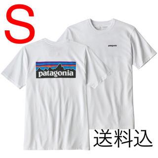 patagonia - ★値下げ★パタゴニア レスポンシビリティP-6ロゴ白tシャツpatagonia