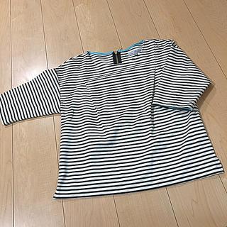 ビアッジョブルー(VIAGGIO BLU)のボーダーカットソー viaggio Blu(カットソー(半袖/袖なし))