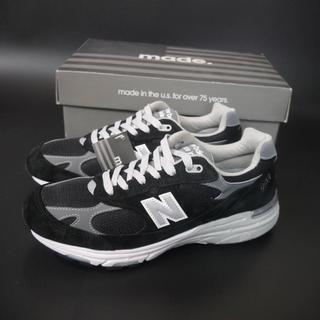 f49654e7322cb ニューバランス(New Balance)の新品 NewBalance MR993BK US8.5D ブラック アメリカ製(