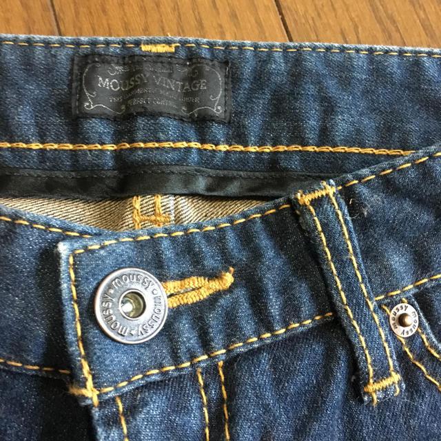 moussy(マウジー)のmoussy7分丈デニム レディースのパンツ(デニム/ジーンズ)の商品写真