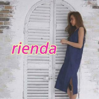 rienda - rienda★スリットデニムOP★Rady*リゼクシー*ロデオクラウンズ