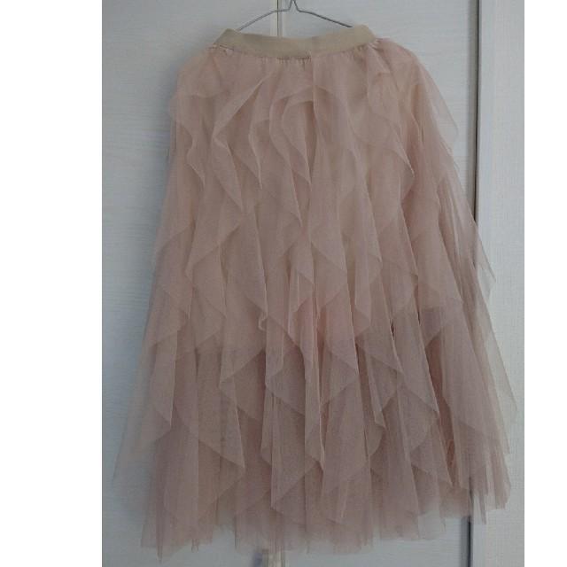 dholic(ディーホリック)のチュールティアードスカート レディースのスカート(ロングスカート)の商品写真