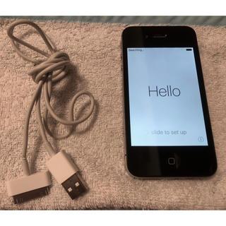 iPhone - iPhone 4S・64 GB・Black・本体