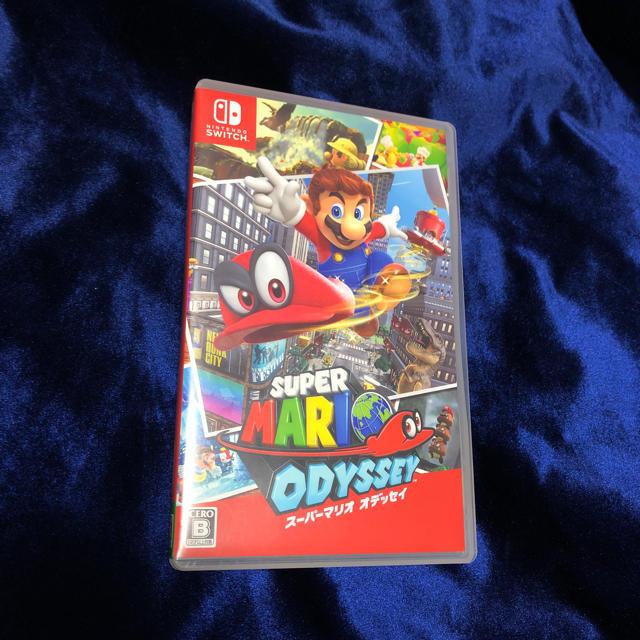 Nintendo Switch(ニンテンドースイッチ)のスーパーマリオオデッセイ エンタメ/ホビーのテレビゲーム(家庭用ゲームソフト)の商品写真