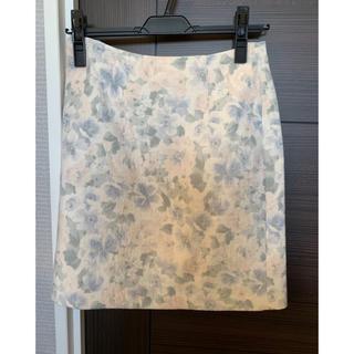エヌナチュラルビューティーベーシック(N.Natural beauty basic)の花柄スカート(ミニスカート)