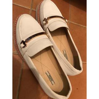 プラダ(PRADA)のPRADA 靴 23.0(ローファー/革靴)