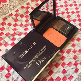 ディオール(Dior)の【最終値下げ】未使用品 各種雑誌掲載 ディオール ブラッシュ チークカラー(チーク)