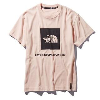 ザノースフェイス(THE NORTH FACE)の新品未使用【THE NORTH FACE】レイジボックスロゴT ピンク XL(Tシャツ/カットソー(半袖/袖なし))