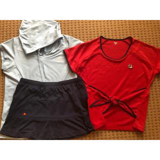 ellesse - FILA ellesse adidas テニスウェアセット M〜Lサイズ