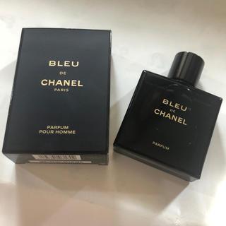 シャネル(CHANEL)のCHANEL  ブルー ドゥ シャネル パルファム(香水(男性用))