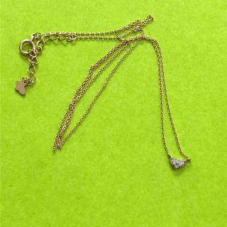 ヨンドシー(4℃)のK18ダイヤモンドネックレス(ネックレス)
